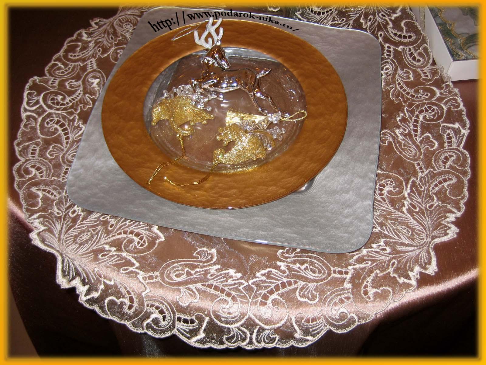 Сшить свадебную скатерть на стол своими руками