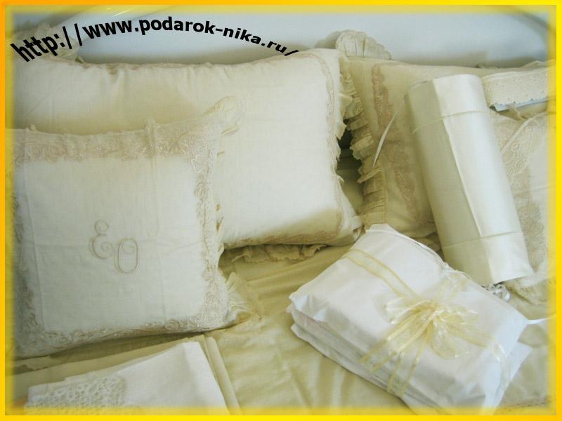 Эксклюзивное элитное постельное бельё с вышивкой